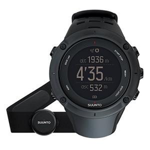SS020674000 One Size SUUNTO Ambit3 Peak HR Monitor Running GPS Unit, Black abareusagi-usa
