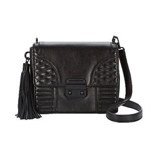 Small Rebecca Minkoff Aliz Leather Clutch Crossbody Bag, Black|abareusagi-usa