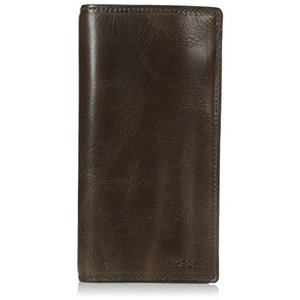 ML3683 One Size Fossil Men's Derrick Leather Executive Wallet|abareusagi-usa
