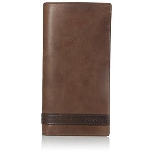 ML3651200 One Size Fossil Men's Quinn Leather Executive Wallet, Brown, One Size|abareusagi-usa