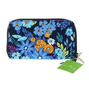 14369-136 One Size Vera Bradley Accordion Wallet (Midnight Blues)|abareusagi-usa