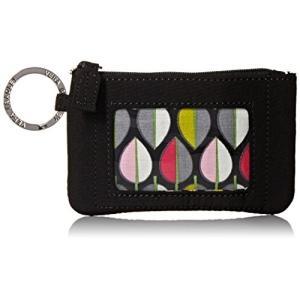 Zip Id One Size Vera Bradley Women's Microfiber Zip ID Case, Classic Black, One Size abareusagi-usa