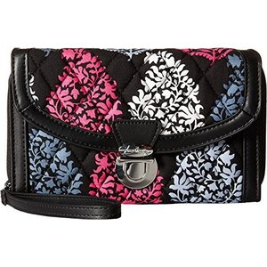15733-672 One Size Vera Bradley Women's Ultimate Wristlet Northern Lights Clutch|abareusagi-usa