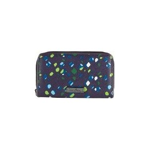 13968-187 Vera Bradley Accordion Wallet (Ink Spots)|abareusagi-usa