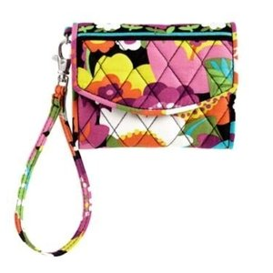12556 Vera Bradley Super Smart Wristlet (Va Va Bloom)|abareusagi-usa