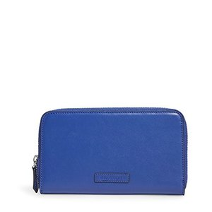 13945 One Size Vera Bradley Accordion Wallet in Cobalt|abareusagi-usa
