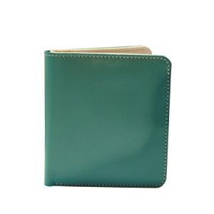 One Size ili New York 7831 Two Tone Leather Wallet with RFID Blocking Lining (Turquoise/Bone)|abareusagi-usa
