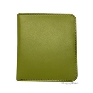 One Size ili New York 7831 Two Tone Leather Wallet with RFID Blocking Lining (Moss Green/Purple)|abareusagi-usa