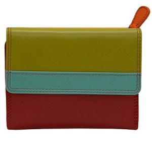 7823-Citrus One Size ILI 7823 Citrus Leather Wallet|abareusagi-usa