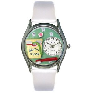 Dental Assistant Watch Small Silver Style|abareusagi-usa