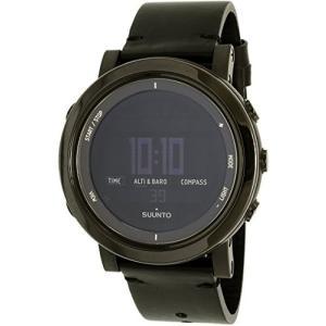SS022437000 Suunto Men's Essential SS022437000 Black Leather Swiss Quartz Watch abareusagi-usa