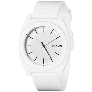 A1191030 One Size NIXON Time Teller P A120 - Matte White - 101M Water Resistant Men's Analog Fashion Watch (40mm Watch Face, 20mm|abareusagi-usa