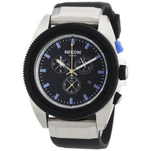 EX-N-STR-20-NAREIV Nixon Rover Midnight GT Black Rubber Chronograph Mens Watch A2901529 abareusagi-usa