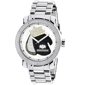 6.40E+11 Boxing Gloves Diamond Watch for Men Southpaw Limited Edition by Luxurman|abareusagi-usa