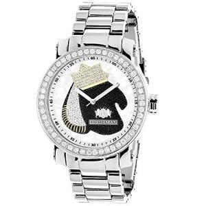 LUXURMAN Mens Diamond Watch with Boxing Gloves 4 CT Southpaw Edition|abareusagi-usa