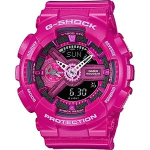 4331802061 Casio G-Shock S Series GMAS110MP-4A3 Women's Sports Watch (Hot Pink/Black)|abareusagi-usa