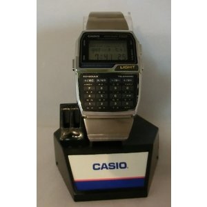 DBC1500B Casio Telememo 150 Luminous Keypad Metal Band Databank Watch #DBC1500B-1|abareusagi-usa
