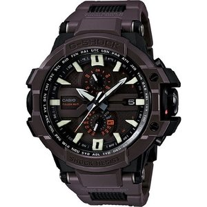 GWA1000FC-5A Casio G-Shock GWA-1000FC-5A G-Aviation Series Men's Stylish Watch - Brown / One Size|abareusagi-usa