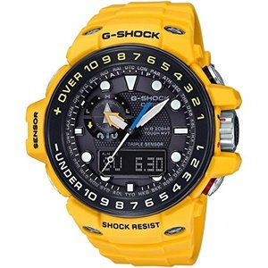 Casio G-Shock GWN-1000H-9A Gulfmaster Summer Color Theme Stylish Watch - Yellow / One Size|abareusagi-usa
