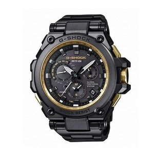 MTG-G1000GB-1A Casio Men's MTG-G1000GB-1A G-Shock Analog Tough Movement Black Stainless Steel/Resin Composite Watch|abareusagi-usa