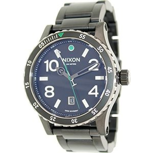 A277-1421 NIXON Men's Quartz Watch with Stainless Steel Strap, Black (Model: A277-1421|abareusagi-usa