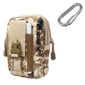 タクティカルポーチZJtech Tactical Molle Pouch Compact EDC Utility Gadget Tools Waist Bag Pack for iPhone 6 Plusの商品画像|ナビ