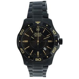 79150 Wenger Alpine Quartz Movement Black Dial Men's Watch 79150|abareusagi-usa