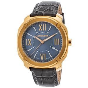 01.1141.120 Wenger Edge Romans Quartz Movement Grey Dial Men's Watch 11141120|abareusagi-usa