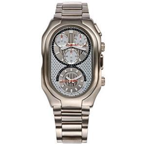 13TI-WCG-TSS Philip Stein Men's 13TI-WCG-TSS Prestige Titanium Chronograph Titanium Bracelet Watch|abareusagi-usa