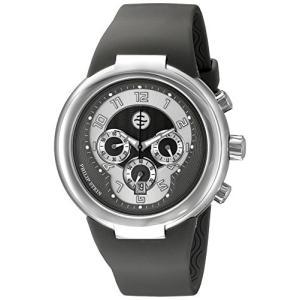32-AGR-RBGR Philip Stein Unisex 32-AGR-RBGR Active Grey Chronograph Rubber Strap Watch|abareusagi-usa