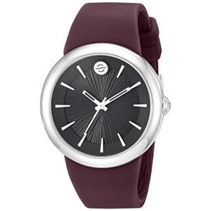 F36S-LCB-PR Philip Stein ' Japanese Quartz Stainless Steel and Silicone Watch, Color:Purple (Model: F36S-LCB-PR)|abareusagi-usa