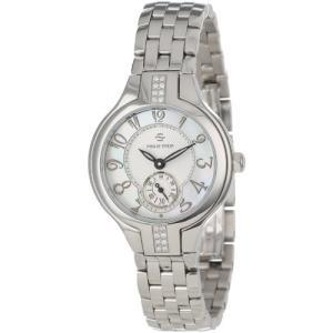44SD-FMOP-SS5 Philip Stein Women's 44SD-FMOP-SS5 Stainless Steel Watch with Diamond Studding and Link Bracelet|abareusagi-usa