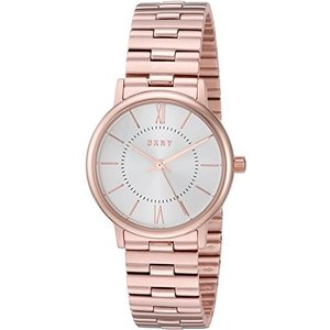 NY2549 DKNY Women's Willoughby Analog-Quartz Watch with Stainless-Steel Strap, Rose Gold, 5 (Model: NY2549)|abareusagi-usa
