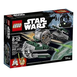 6174896 LEGO Star Wars Yoda's Jedi Starfighter 75168 Building Kit (262 Pieces) abareusagi-usa