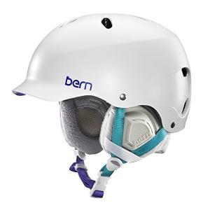 SW05ESWHT11 XS-S Bern Lenox Snowboard Helmet Womens (Satin White, XS/S)|abareusagi-usa