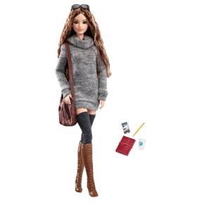 DYX63 2.5 x 7 x 12.8 inches Barbie The Look Sweater Dress Doll|abareusagi-usa