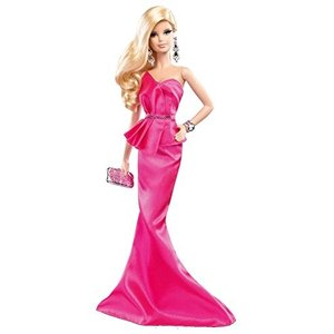 BCP89 One Size Barbie The Look: Pink Gown Barbie Doll|abareusagi-usa