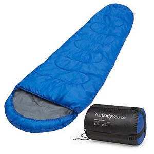 Mummy Sleeping Bag Active Era Mummy Sleeping Bag with Compression Sack for 3-4 Season - Lightweight, Water Resistant & Warm for Ca abareusagi-usa