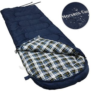 Extra Large NORSENS Sleeping Bag for Adults Cold Weather 0 Degree, Lightweight Compact Backpacking Sleeping Bags with Upgraded Com abareusagi-usa