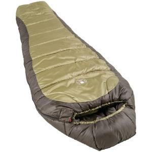 2000000104 Coleman 0°F Mummy Sleeping Bag for Big and Tall Adults   North Rim Cold-Weather Sleeping Bag, Olive abareusagi-usa