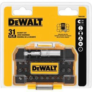 DWAX200 DEWALT DWAX200 Security Screwdriving Set, 31-Piece|abareusagi-usa