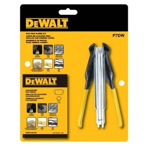 P7DW Pack of 1 DEWALT Hog Ring Pliers Kit (P7DW)|abareusagi-usa