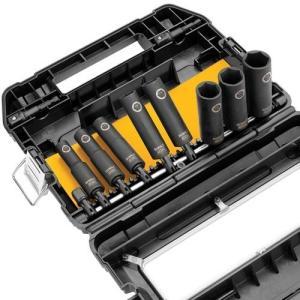 DW22838 3/8-Inch DEWALT DW22838 3/8-Inch 10-Piece IMPACT READY Socket Set|abareusagi-usa