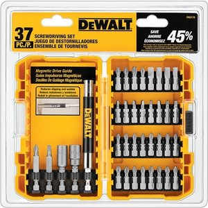 DW2176 DEWALT DW2176 37-Piece Screwdriving Set|abareusagi-usa