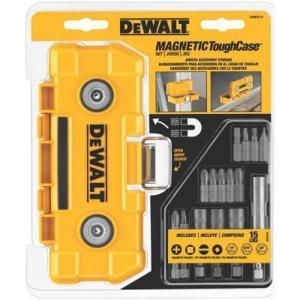 DWMTC15 DEWALT DWMTC15 15-Piece Magnetic ToughCase|abareusagi-usa