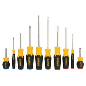 DWHT62513 Pack of 1 DEWALT Screwdriver Set, 10 Piece (DWHT62513)|abareusagi-usa