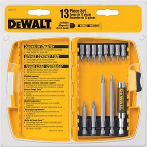 DW2160 DEWALT DW2160 Bit Tip Assortment with Bit Tip Driver Set, 13-Piece|abareusagi-usa