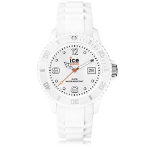 SI.WE.U.S.09 Ice-Watch Unisex SI.WE.U.S.09 Sili Collection White Plastic and Silicone Watch|abareusagi-usa