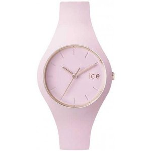 ICE.GL.PL.U.S.14 ys/m Ice-Watch - ICE Glam Pastel Pink Lady - Women's Wristwatch with Silicon Strap - 001069 (Medium)|abareusagi-usa