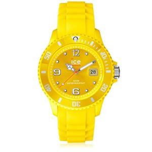 SI.YW.B.S.09 Ice-Watch Men's SI.YW.B.S.09 Sili Collection Yellow Plastic and Silicone Watch|abareusagi-usa